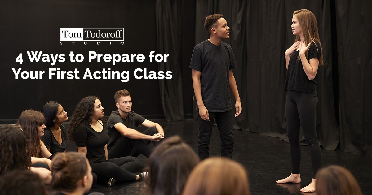 4 Ways to Prepare for Your First Acting Class