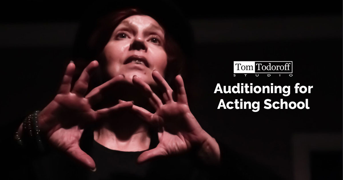 Auditioning for Acting School