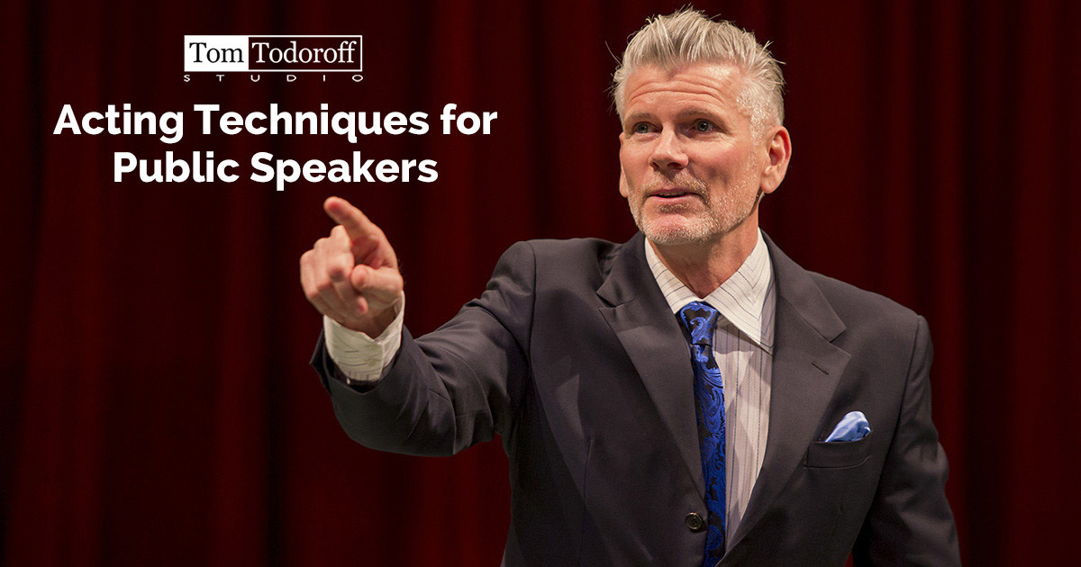 Acting Techniques for Public Speakers