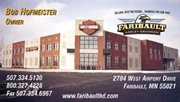 Faribault Harley Business Card