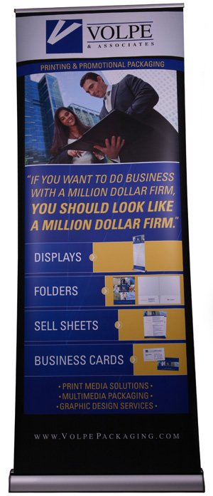 Custom Printed Banner Stands