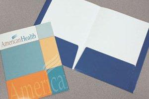 150 Two Pocket Capacity Folder