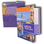Custom Printed File Tab Folders with Expandable Pockets