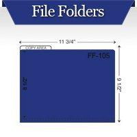 Custom Printed File Tab Pocket Folders