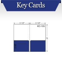 Custom Printed Hotel Key Card Pocket Folders