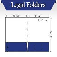Custom Printed Legal Pocket Folders