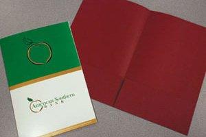 105 Two Pocket - Legal Pocket Folders