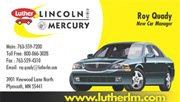 Luther Lincoln Business Card