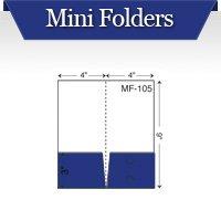 Custom Printed Mini Pocket Folders