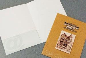 110 Single Left Pocket Folder - Standard Pocket Folder