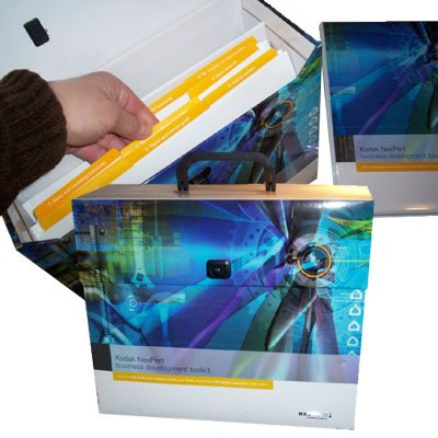 Presentation Literature Kit w/ Reinforced Corrugated Liner