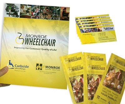 Custom Printed Pocket Folder, Brochures, & Full Color Business Cards