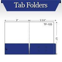 Custom Printed Tab Folders