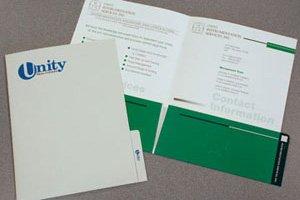 165 Two Pocket Tab Folder
