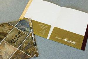 155 Two Expansion Pocket Tab Folder