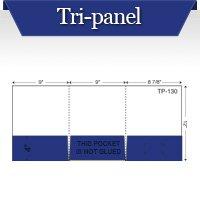 Custom Printed Tri Panel Pocket Folders