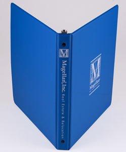 custom printed vinyl binder