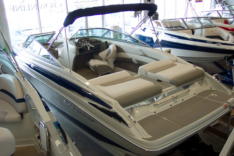 NEW 2014 CROWNLINE 235 SS OPEN BOW W/ 350 MAG MPI BRAVO III