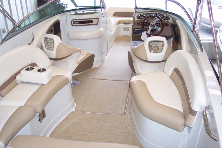 2013 CROWNLINE E6 DECK BOAT W/ MERC 350 MAG MPI BRAVO III I/O