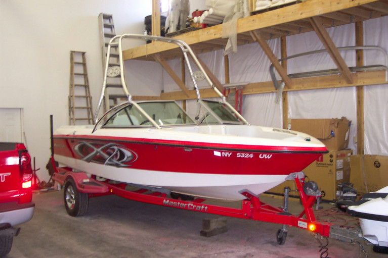2003 MASTERCRAFT WAKEBOARD EDITION W/ 310 HP VDR & TRAILER