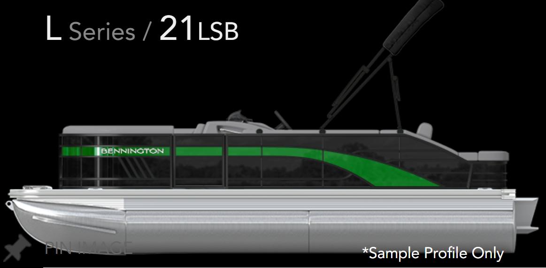 2021 BENNINGTON 21LSB W/ YAMAHA F150 4-STROKE O/B