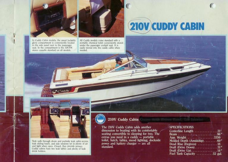 1987 CELEBRITY 210 VCC