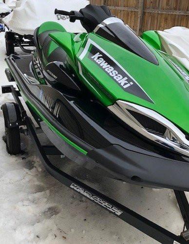 2018 KAWASAKI JET SKI ULTRA 310LX W/ TRAILER