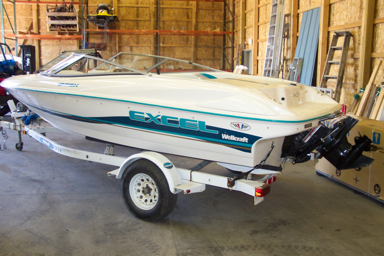 1997 WELLCRAFT EXCEL 19SSX