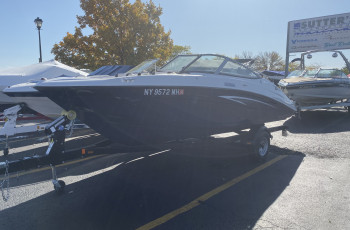 2015 YAMAHA SX190 JET BOAT W/ 160HP I/B JET DRIVE & SINGLE AXLE TRAILER