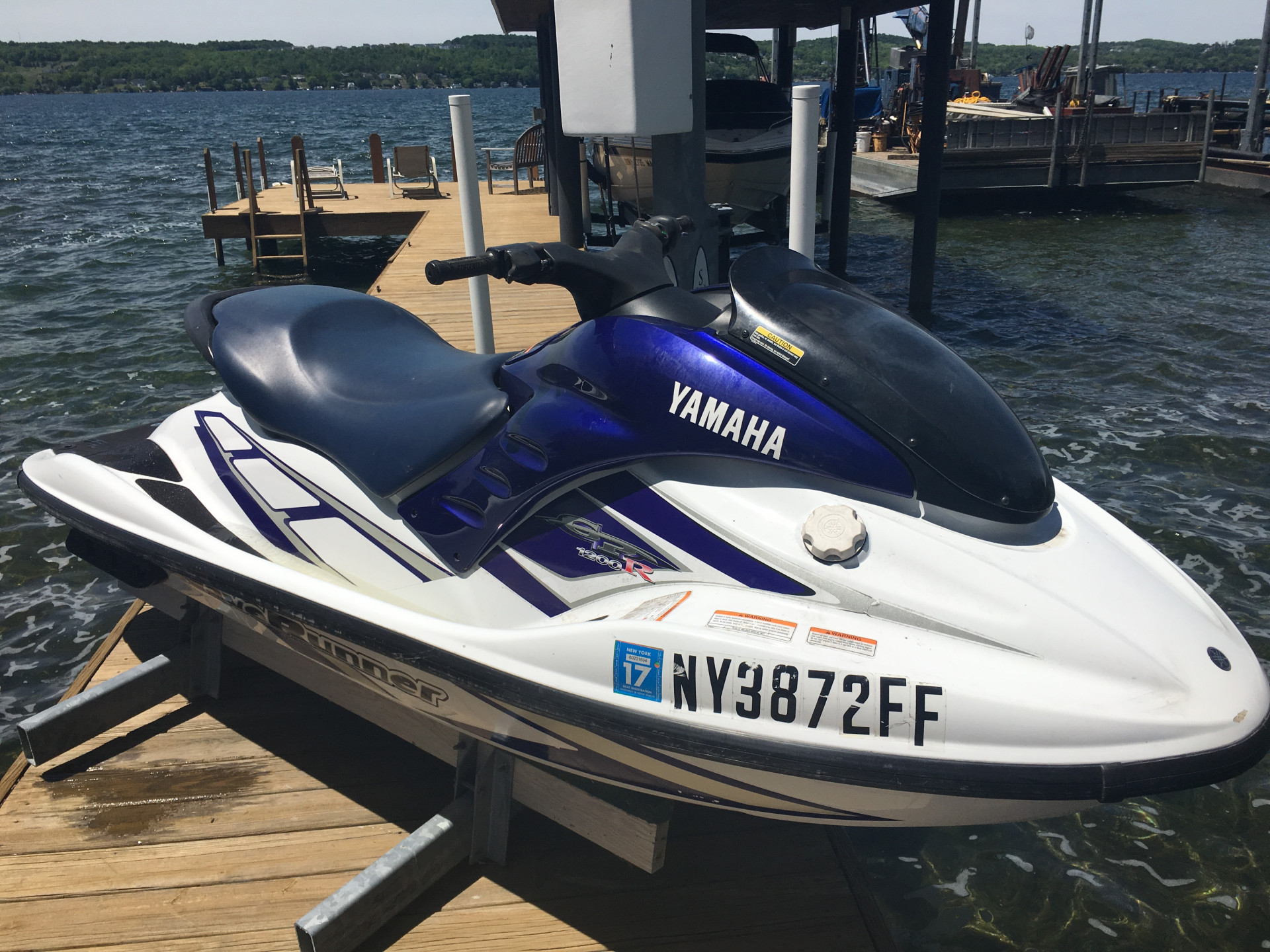 2001 YAMAHA GP1200R 2-PERSON WAVE RUNNER | Sutters Marina