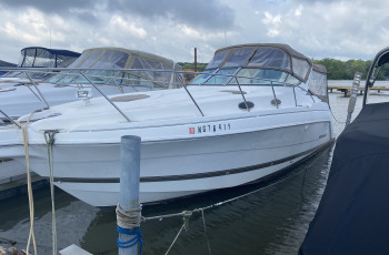 2001 WELLCRAFT 3000 MARTINIQUE W/ TWIN VOLVO V8 I/O'S & DOCKAGE ON CANANDAIGUA LAKE!