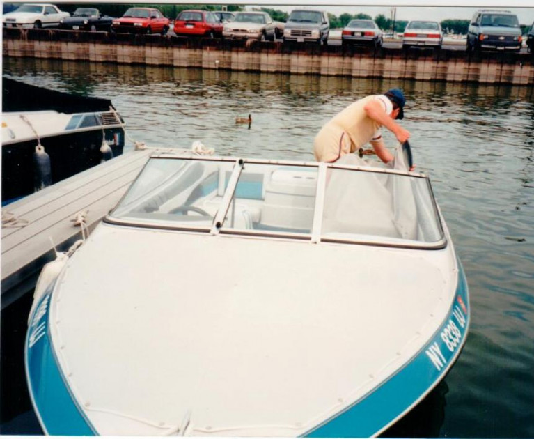 1987 BAYLINER 2550 CIERA SUNBRIDGE W/ TRAILER