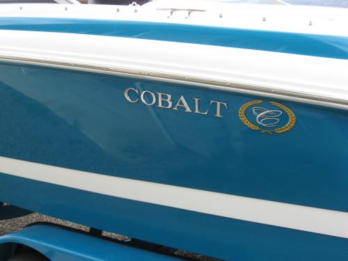 2001 FLAWLESS 21' COBALT W/ MERC 350 MAG MPI BRAVO III I/O & CUSTOM TRAILER