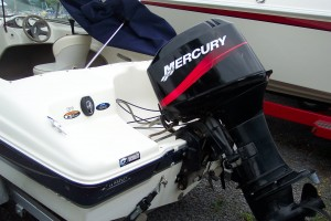 2002 BAYLINER 160 BR W/ 50 HP MERCURY O/B & TRAILER