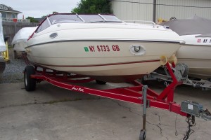 1994 STINGRAY 20' CUDDY CABIN W/ 4.3LX  MERC V6 I/O & TRAILER