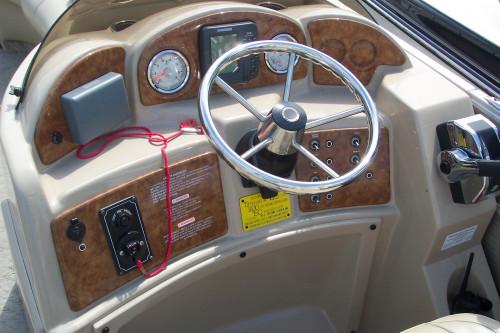2012 CREST PONTOON BOAT W/ MERCURY 115 4-STROKE O/B