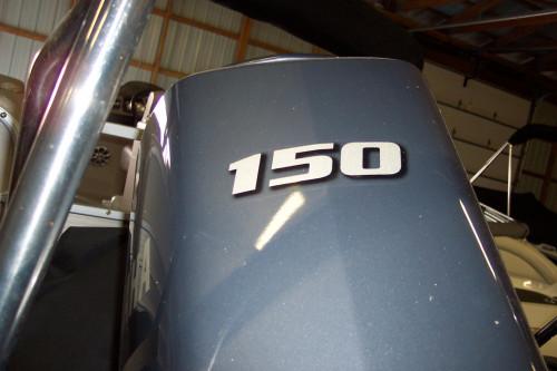 2014 BENNINGTON 2375 GCW W/ YAMAHA F150 4-STROKE O/B