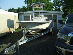 2006 21' KEY WEST CENTER CONSOLE W/ YAMAHA F150 TXR 4-STROKE O/B & TRAILER