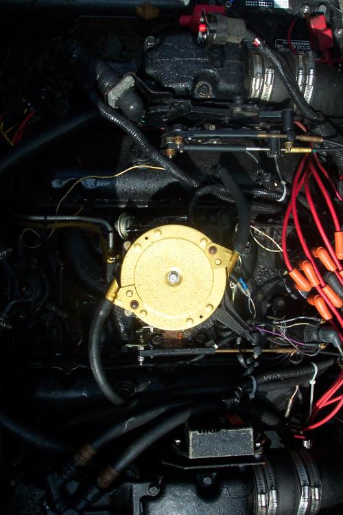 1987 FOUR WINNS LIBERATOR W/ MERC V8 454 I/O & TRAILER