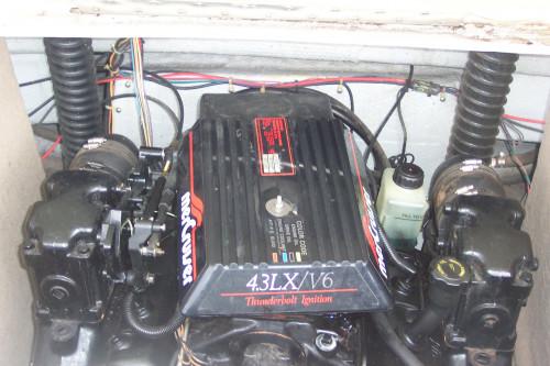 1997 MARADA 18' BOWRIDER W/ MERC V6 I/O & TRAILER