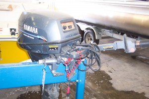 1989 CATALINA SAIL BOAT W/ 9.9 HP YAMAHA 4-STROKE O/B & CRADLE