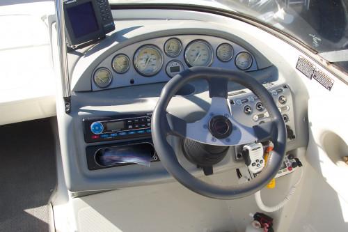 2007 BAYLINER 245 BR W/ 5.0L MPI MERC V8 I/O & TANDEM TRAILER