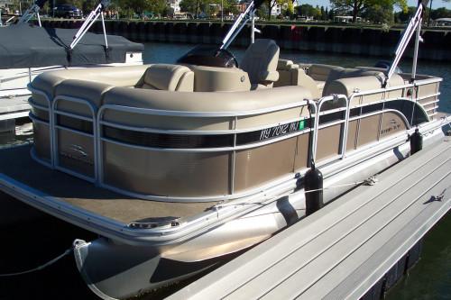 2013 BENNINGTON 2275 GCW PONTOON BOAT W/ YAMAHA F150 4-STROKE O/B