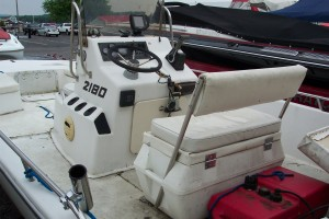 "1994 CENTURY 22"" CENTER CONSOLE W/ YAMAHA 115 O/B & TRAILER"