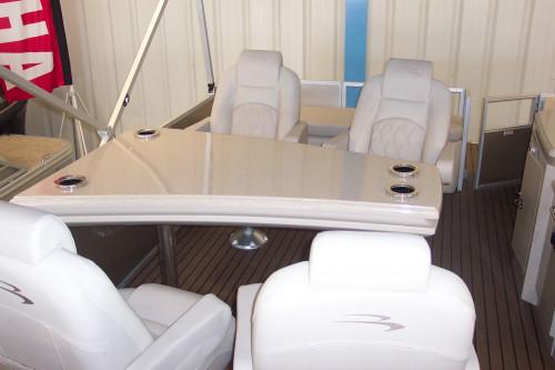 2015 2575 RSD DINETTE PONTOON BOAT W/YAMAHA F300 O/B