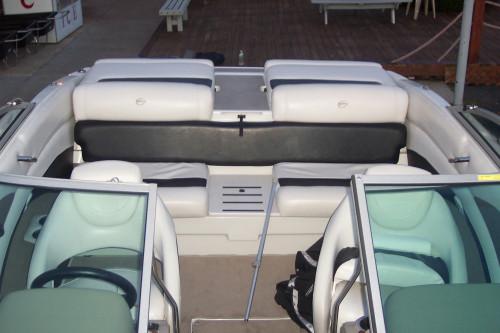 2012 CROWNLINE 215 SS W/ V8 MPI & CUSTOM TANDEM TRAILER