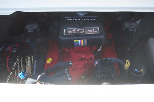 2008 20' GLASSTRON BOW RIDER W/ 5.0L V8 VOLVO I/O & TRAILER