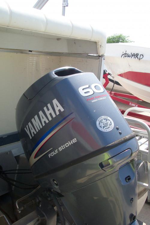 2005 SWEETWATER 22' PONTOON BOAT W/ F60 YAMAHA 4-STROKE O/B