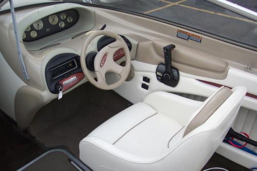 1999 BAYLINER 1950 BR W/ 135HP MERC I/O & TRAILER