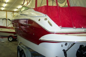FLAWLESS 2012 CROWNLINE 260 CR W/ 350 MAG MPI BIII I/O - 50.4 HOURS!!!